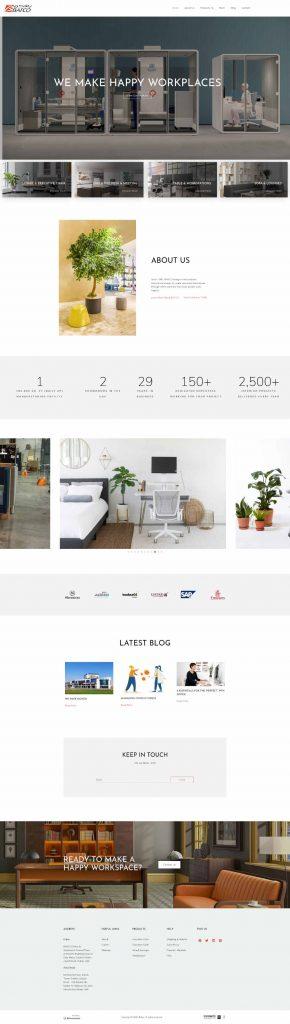 dubai web design company portfolio screen shot bafco-1.1